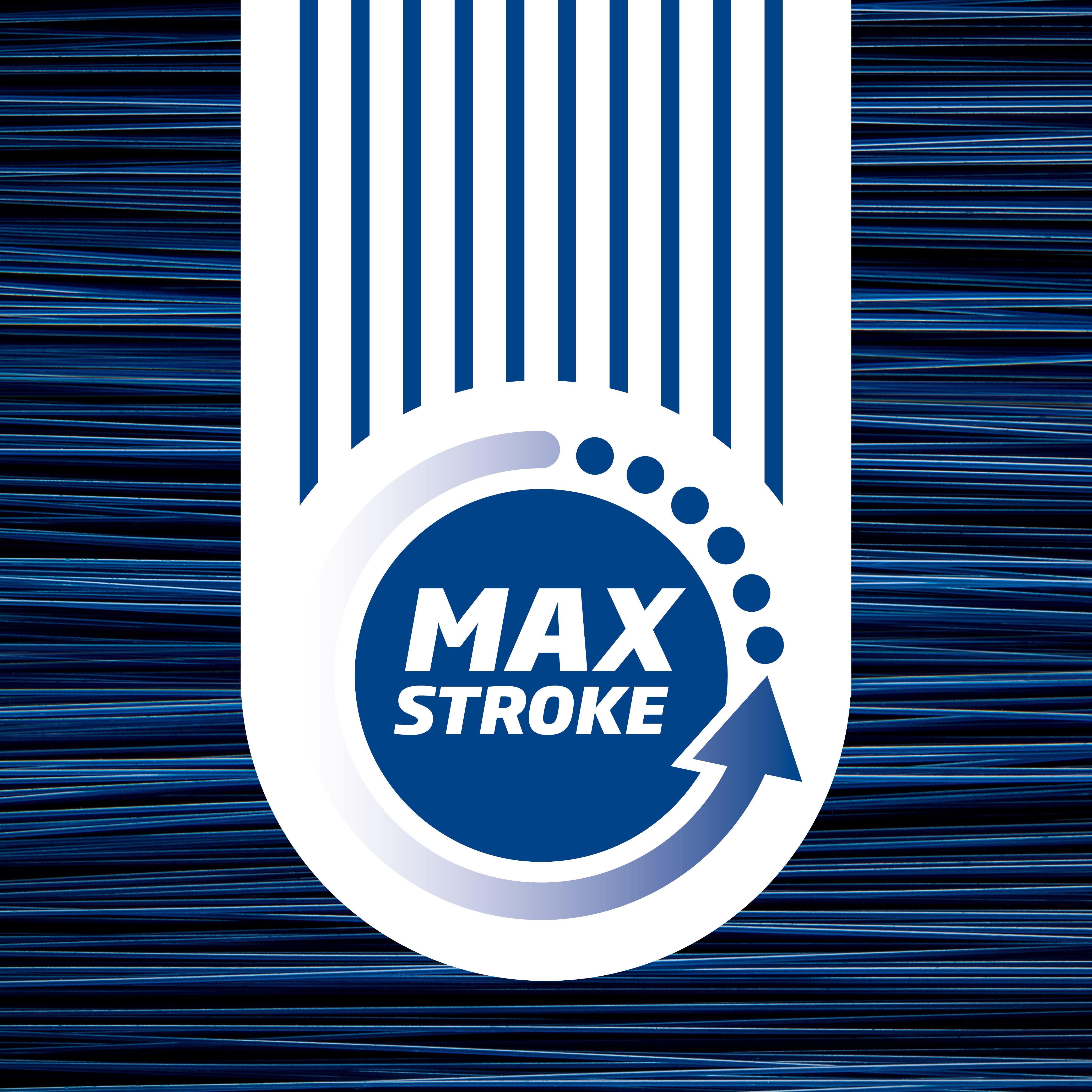 Goal Platinum: Short Angled Brush Max Stroke