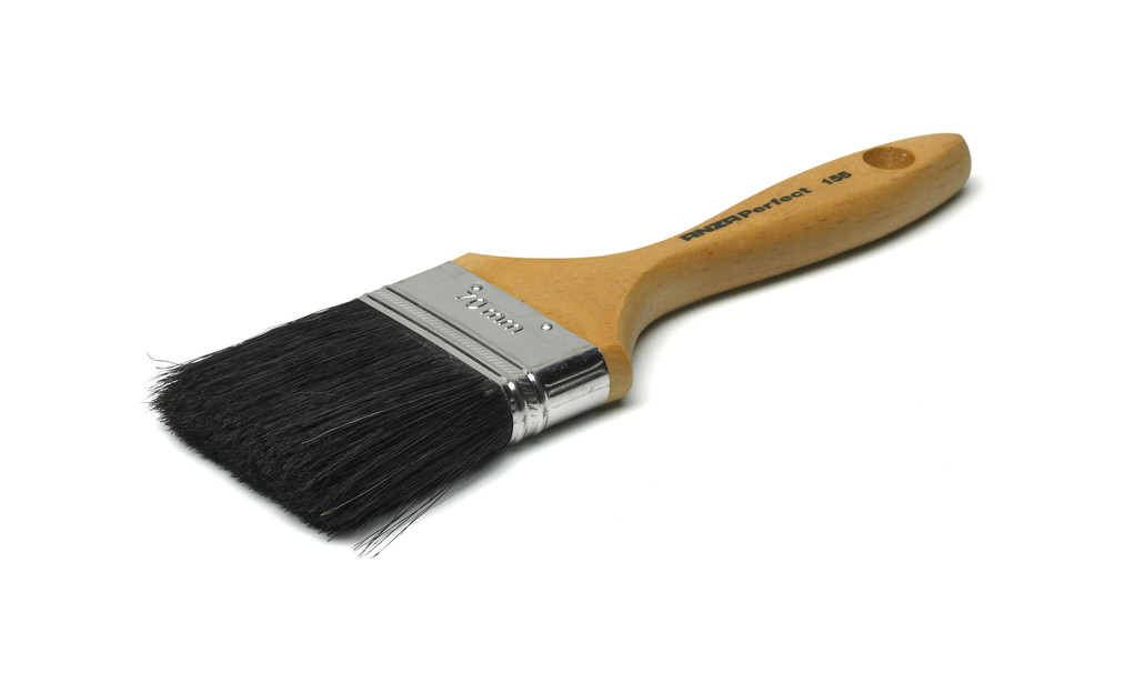Oiling A Paint Brush